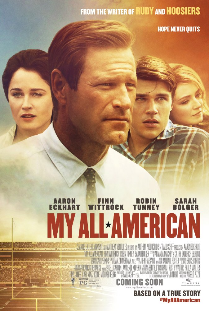 My All American [2015] [PG] - 3 3 3 | Parents' Guide & Review | Kids